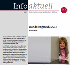 Informationsbroschüre Bundestagswahl 2013